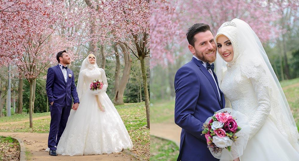 küçük çamlıca korusu - K      k   aml  ca Korusu D      n Foto  raflar   2 - Küçük Çamlıca Korusu Düğün Fotoğrafları Çekimi