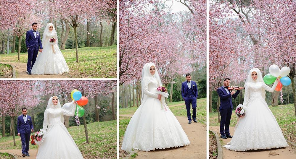küçük çamlıca korusu - K      k   aml  ca Korusunda D      n Foto  raf   ekimi - Küçük Çamlıca Korusu Düğün Fotoğrafları Çekimi