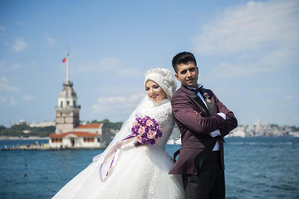 kız kulesi düğün fotoğrafları - k  z kulesi d      n foto  raf   ekimi - Kız Kulesi, Fethi Paşa Korusu, Kuzguncuk Boğaz Sahil Düğün Fotoğrafları Çekimi