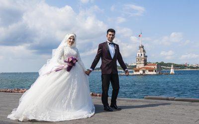 Kız Kulesi, Fethi Paşa Korusu, Kuzguncuk Boğaz Sahil Düğün Fotoğrafları Çekimi düğün fotoğraf çekimi için en iyi yerler - k  z kulesi d      n foto  raflar   400x250 - İstanbul'da Nişan Düğün Fotoğraf Çekimi İçin En İyi Yerler, Mekanlar