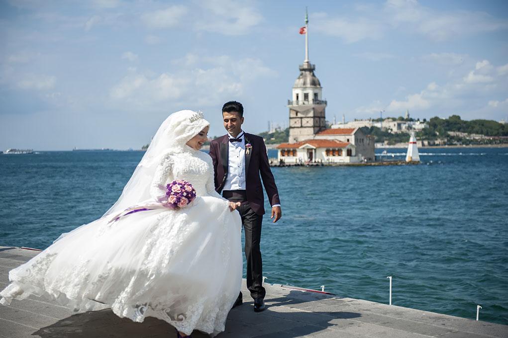 kız kulesi düğün fotoğrafları - k  z kulesi foto  raf   ekimi - Kız Kulesi, Fethi Paşa Korusu, Kuzguncuk Boğaz Sahil Düğün Fotoğrafları Çekimi